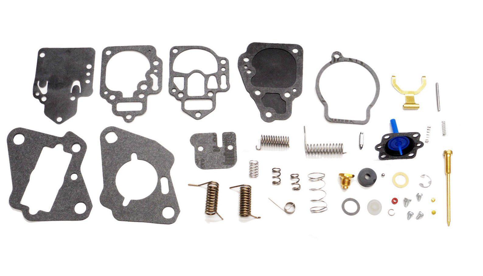 Reparo carburador para motor Mercury 15 e 25 HP Americano