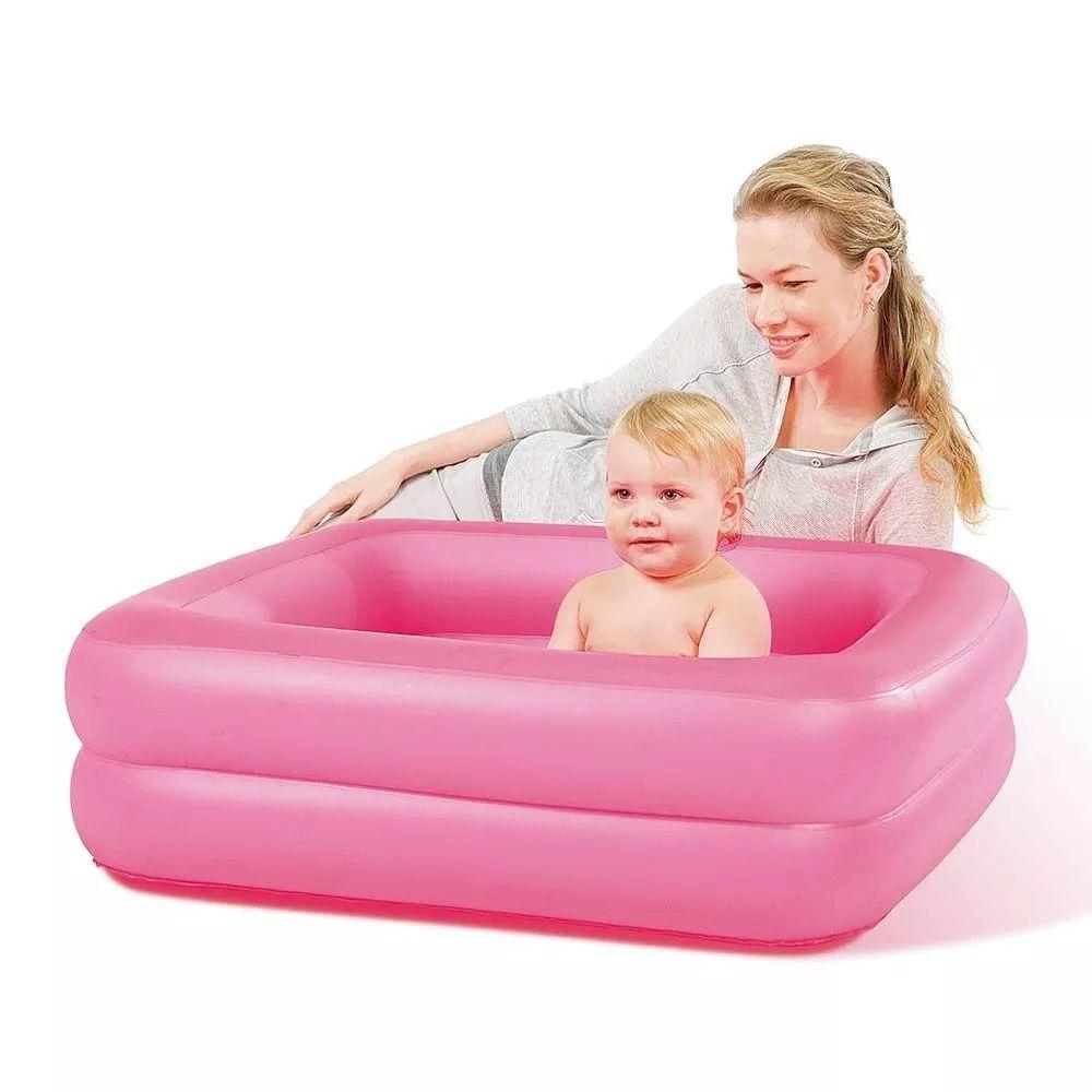 Banheira Infantil Confort Rosa - Bestway