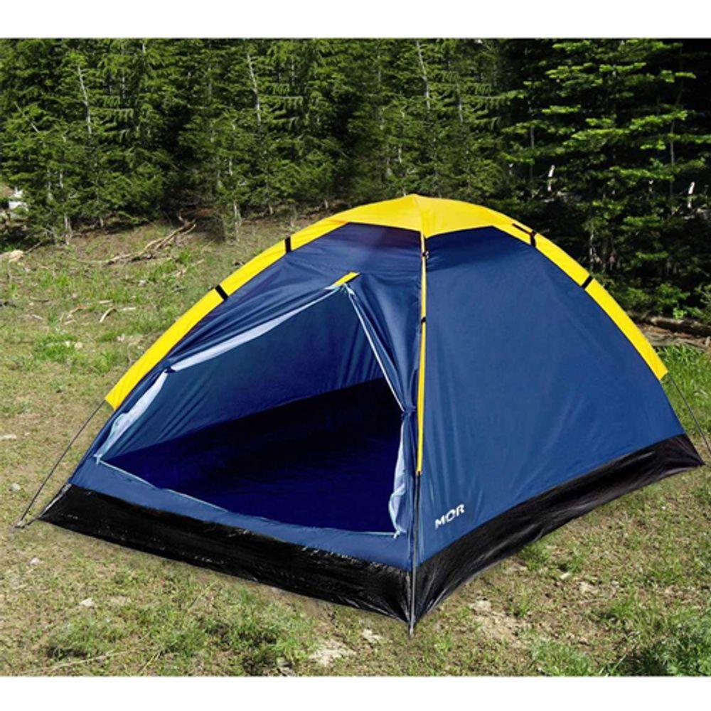 Barraca Camping Iglu Azul para 4 Pessoas - MOR