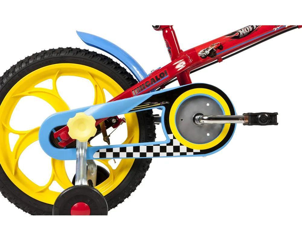 "Bicicleta Hot Wheels Aro 16"" - Vermelha - Caloi"