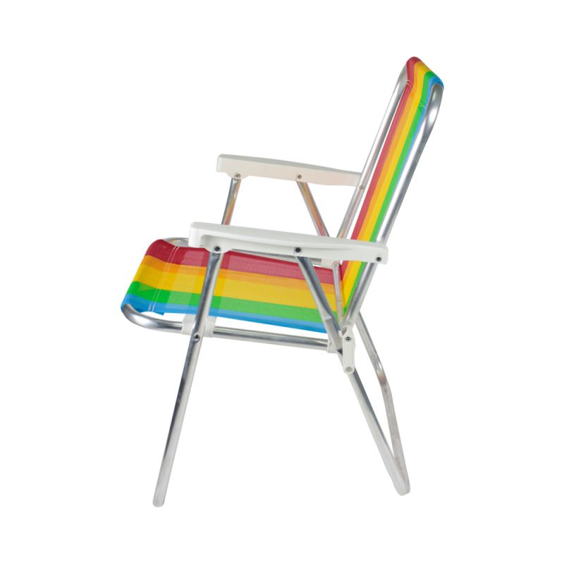 Cadeira de Praia Alta em Alumínio - Belfix