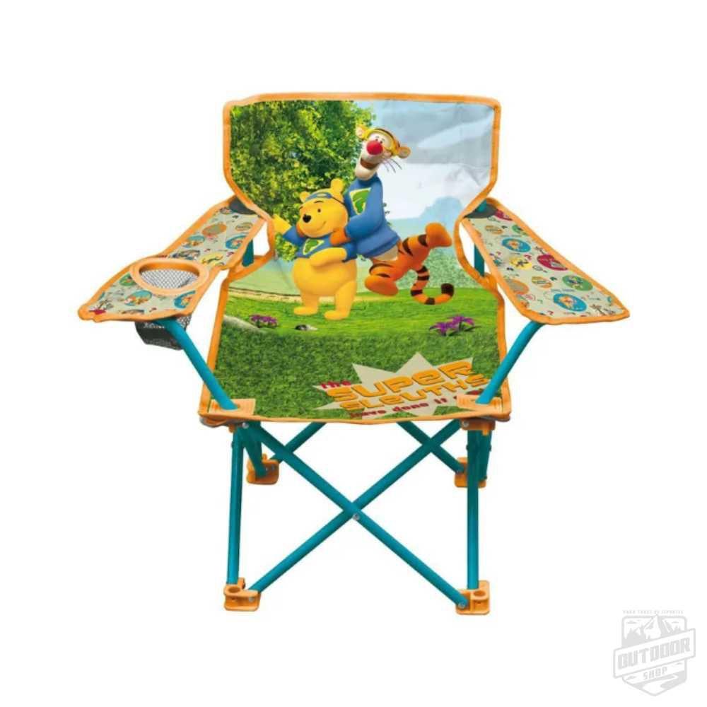 Cadeira Dobrável Infantil com Sacola Pooh - Echolife