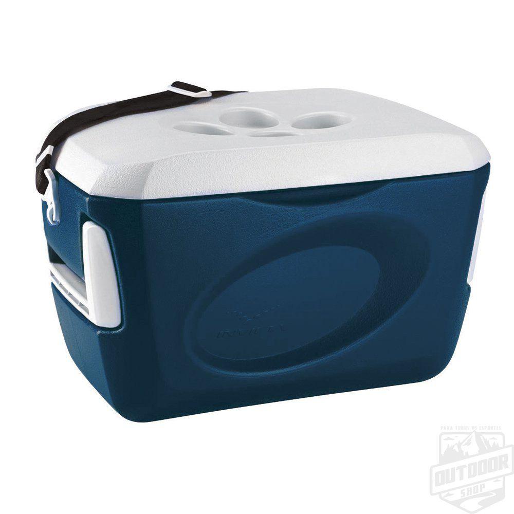 Caixa Térmica 24,0L Azul Petroleo Invicta