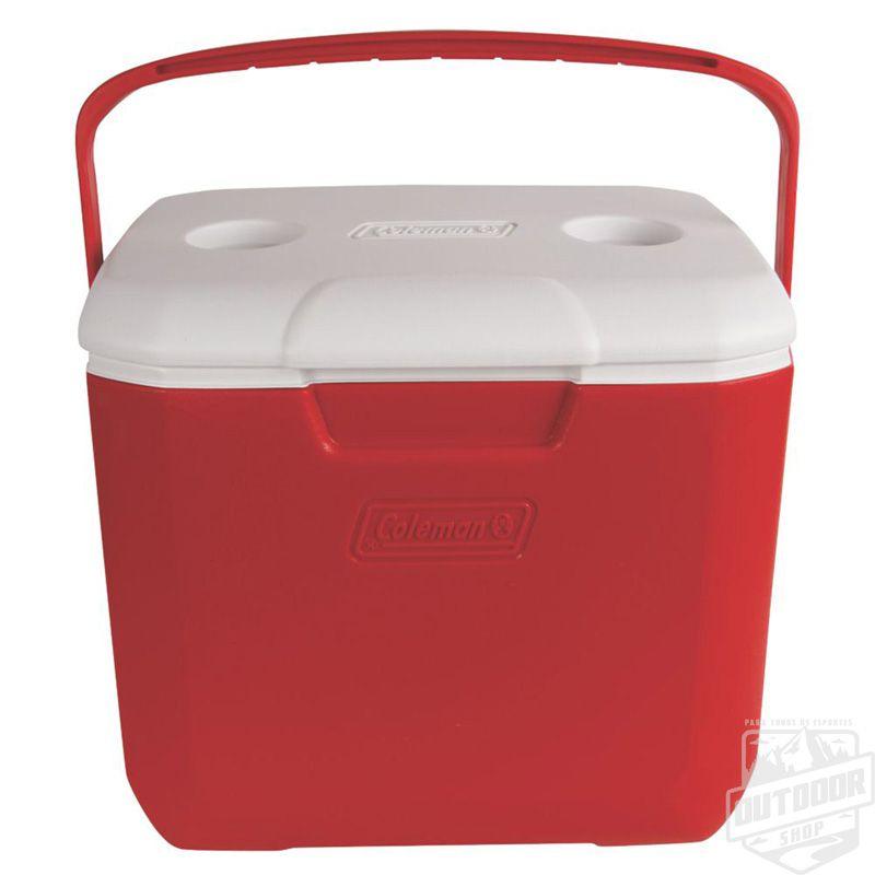Caixa Térmica 28 Litros Vermelha - Coleman