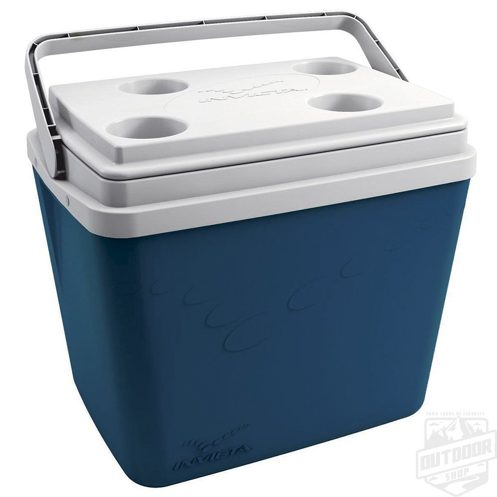 Caixa Térmica Pop 34,0L Azul Pretróleo Velvet Invicta