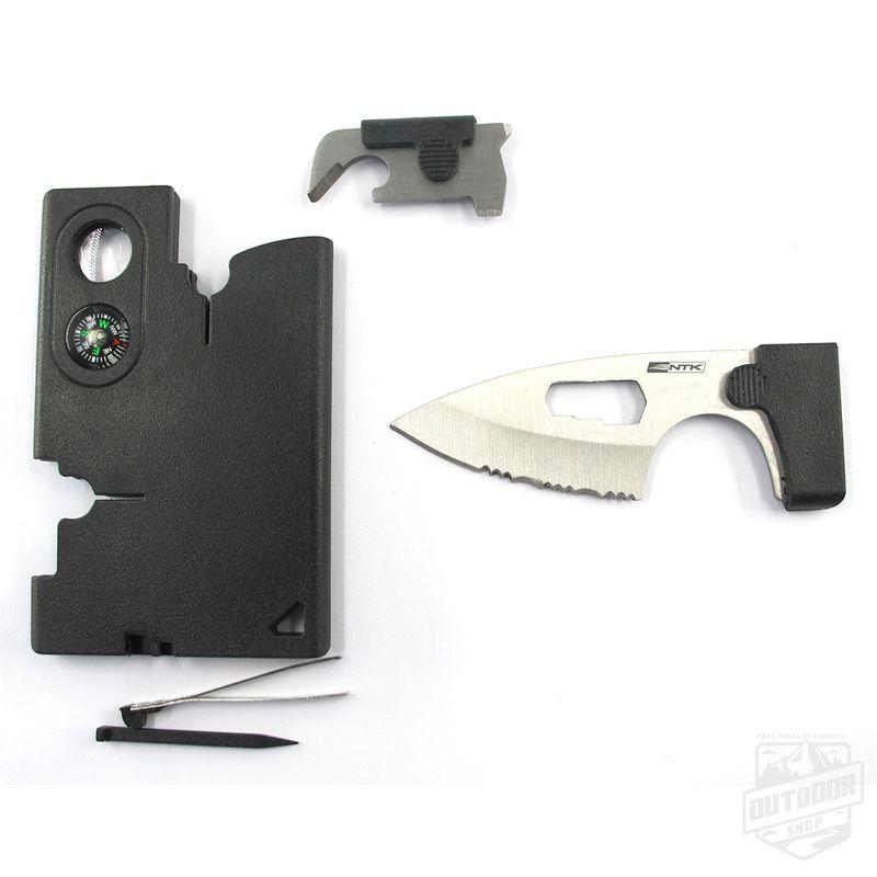 Canivete Flat com bússola - NTK