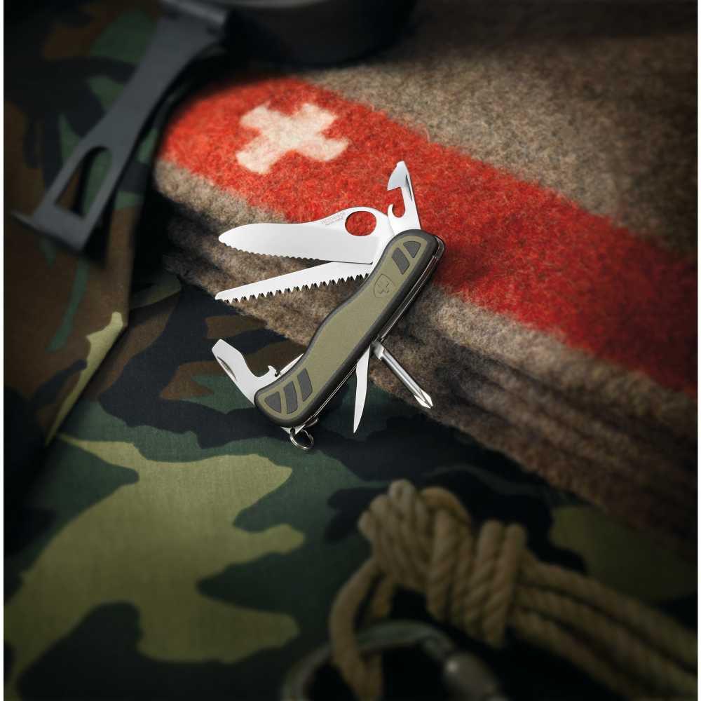 Canivete New Soldier 10 Funções Verde - Victorinox