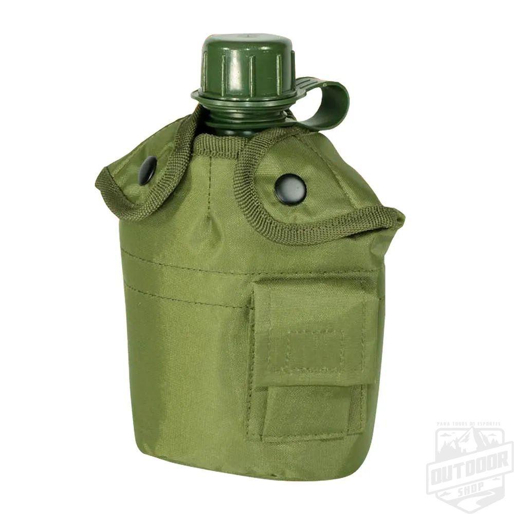 Cantil Plástico 950ml Verde Oliva - Guepardo
