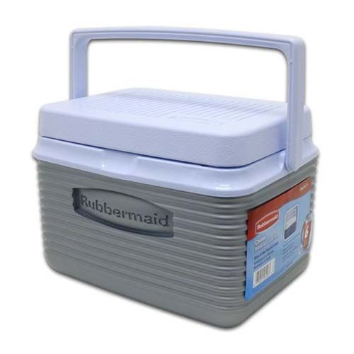 Cooler 4,7l Litros Prata - Rubbermaid
