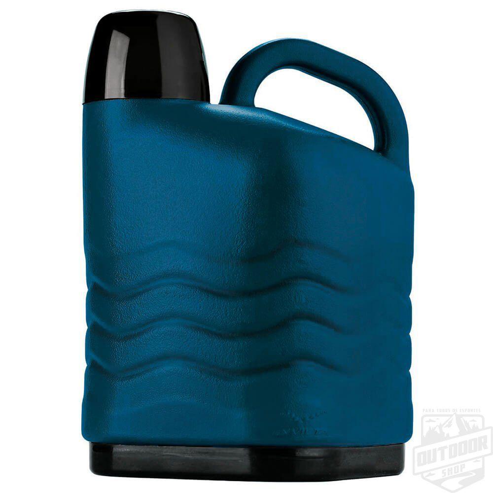 Garrafão Térmico 5,0L Azul Petroleo Invicta