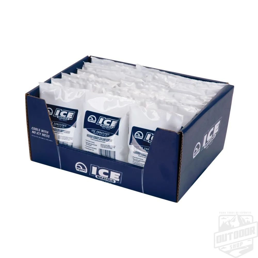 Gelo Artificial Maxcold  em Gel Pack - IGLOO