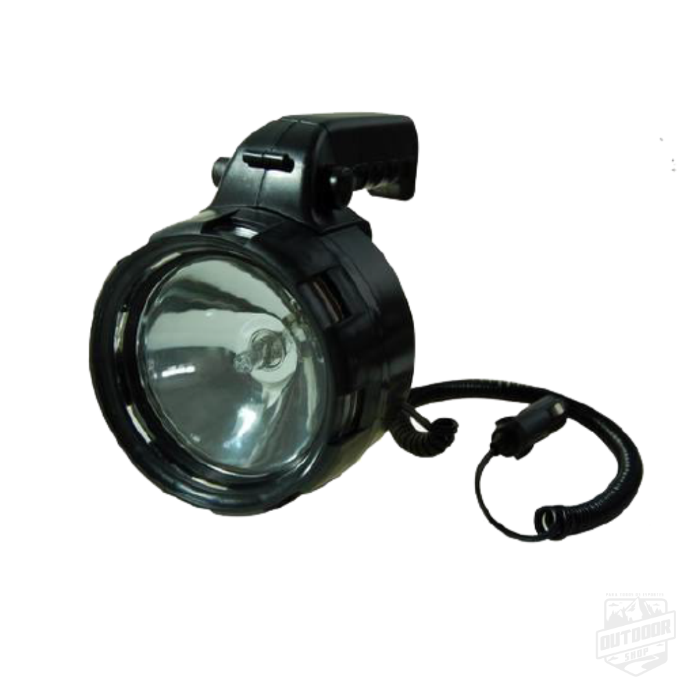 Lanterna Tocha Spot Light Slim 12V Preto - Echolife