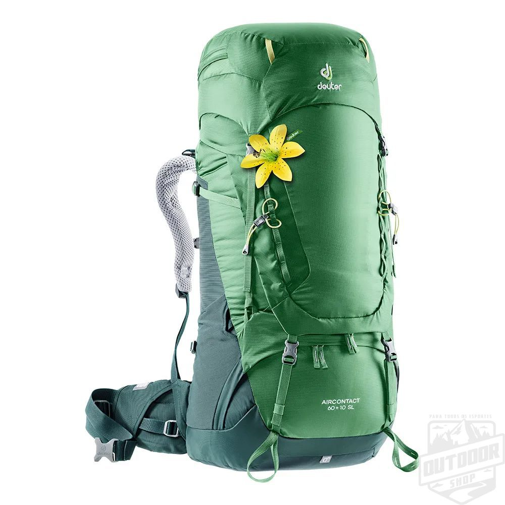 Mochila Semi-Cargueira Air Contact 60+10SL - Deuter
