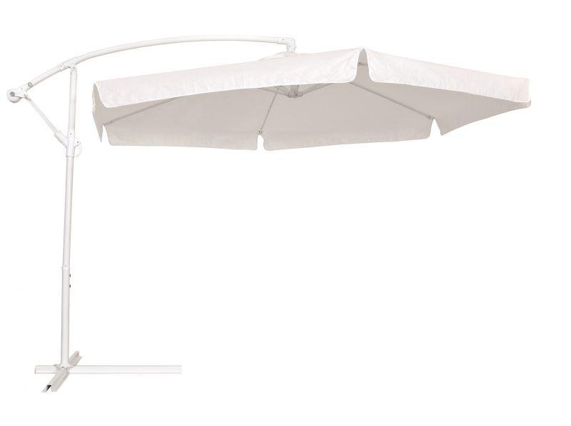 Ombrelone Suspenso Poliéster 2,50m Branco - Belfix