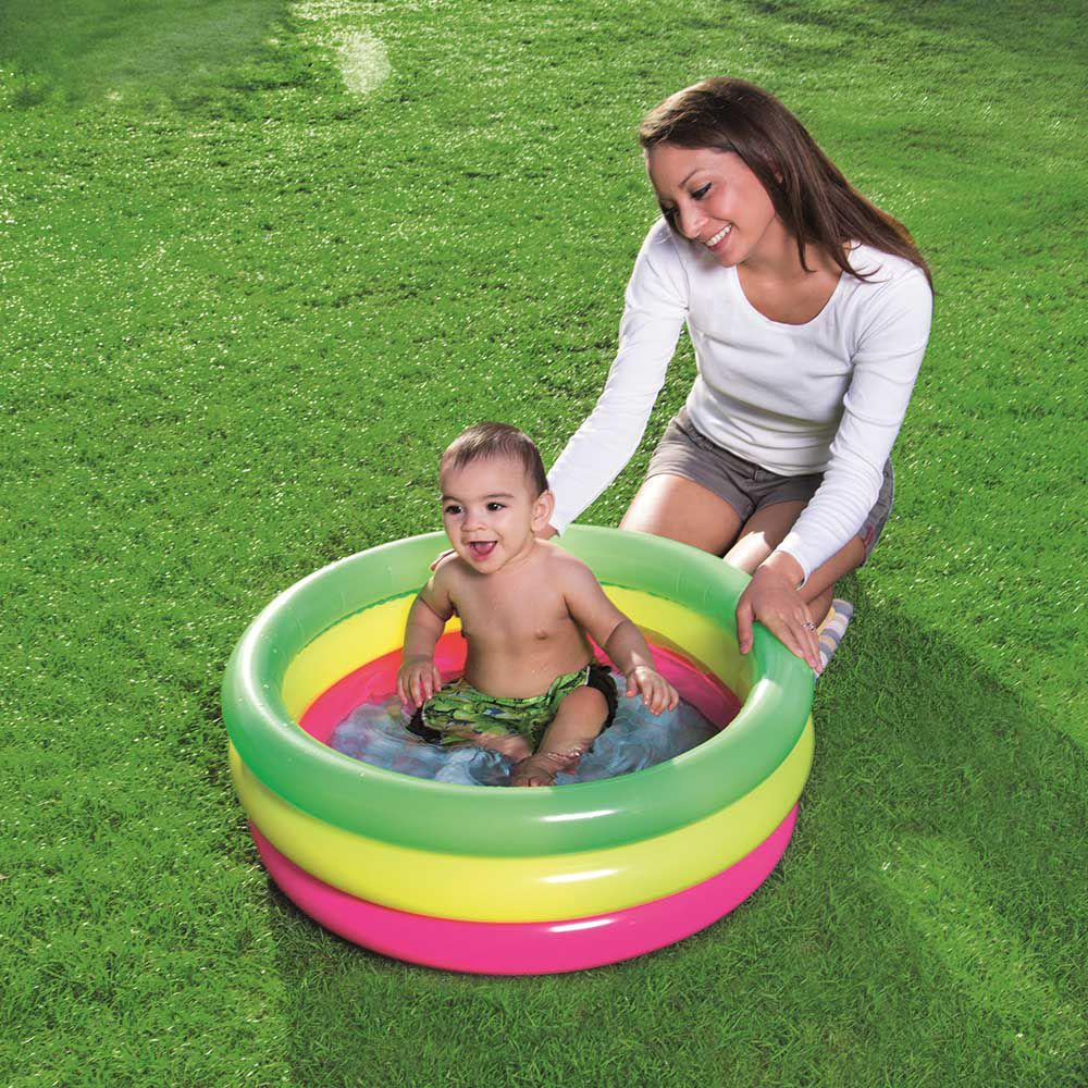 Piscina Inflável Infantil Summer 41 litros colorida - Bestway