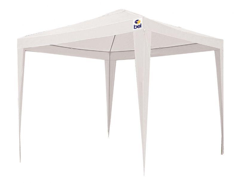 Tenda Gazebo 2 x 2 m Polietileno - Branco - Belfix