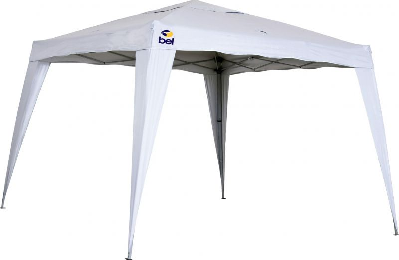 Tenda Gazebo 3 x 3 Articuclado Dobrável Alumínio Branco - Belfix