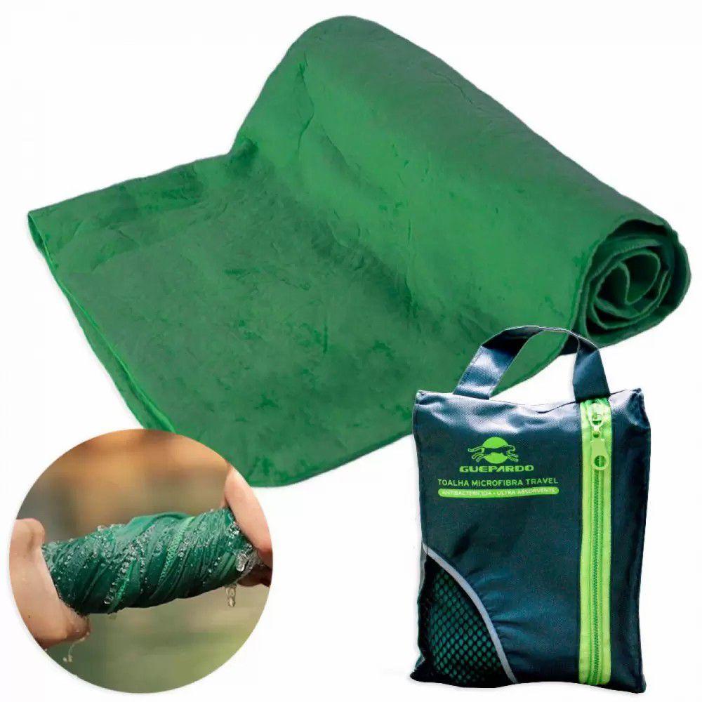 Toalha Travel de microfibra antibactericida e ultra absorvente - Guepardo
