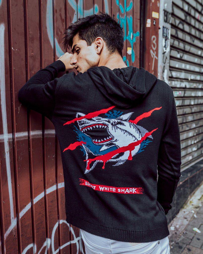 Blusa Zicão Tubarão White