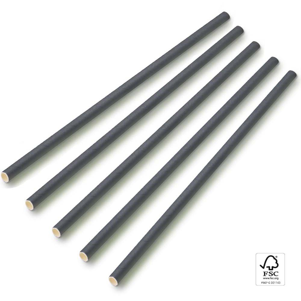 CANUDO DE PAPEL BIO 6mm >>100 unidades