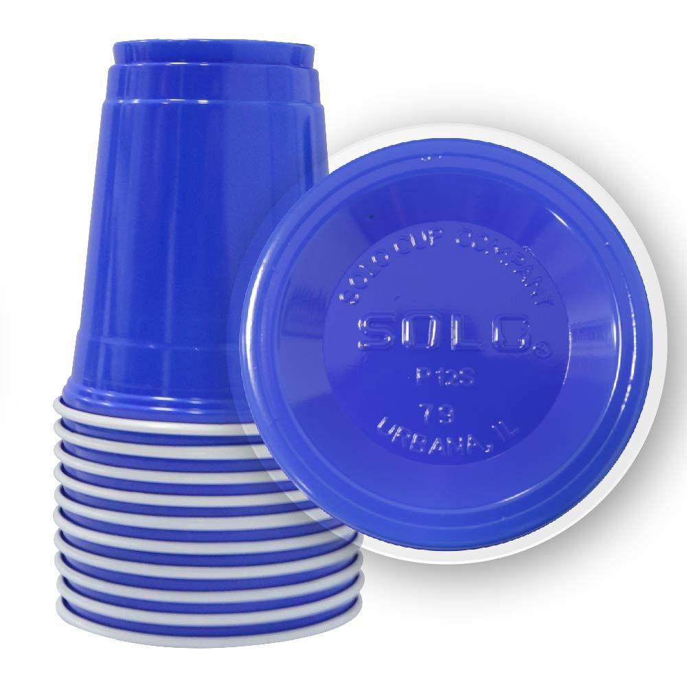 Kit 200un BLUE SOLO® Cup 364ml