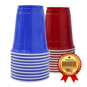 Kit 200un Mix RED & BLUE CUP Original® 500ml