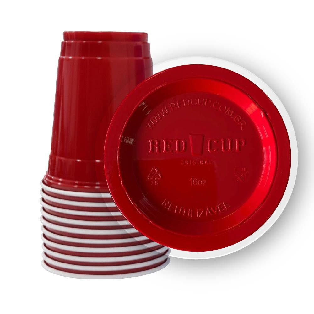 Kit 200un RED CUP Original® 500ml