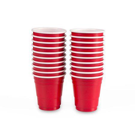 Kit 60un Mini RED CUP Original® Shot 60ml