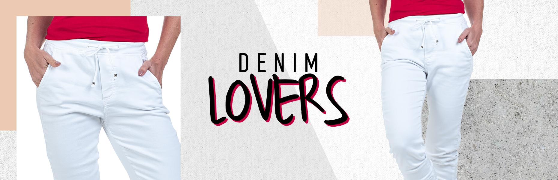 Denim Lovers -  Jeans Sarja de Moletom