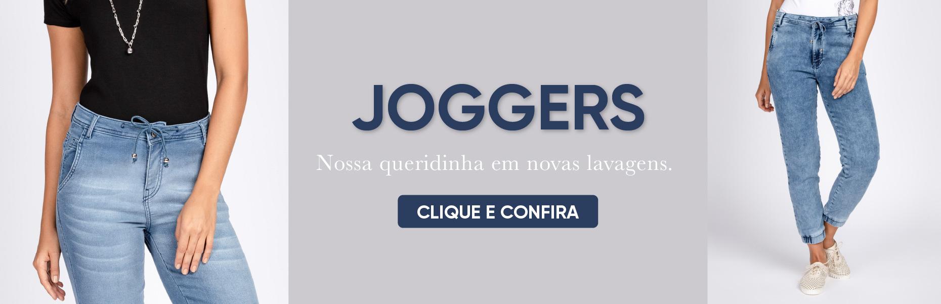 Novas Joggers!