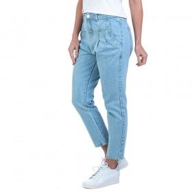 Calça Jeans Bloom Mom Azul