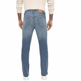 Calça Jeans Masculina Slim Delavê