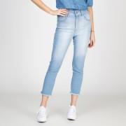 Calça Jeans Skinny Lady Cintura Alta Delavê
