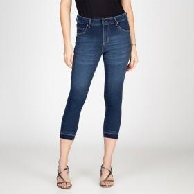 Calça Jeans Skinny Lady Detalhe Barra
