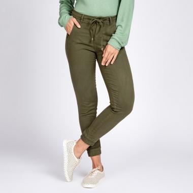 Calça Jogger Jeans tipo Moletom Várias Cores