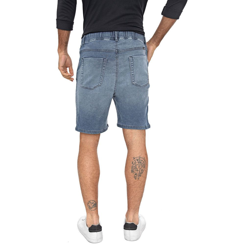 Bermuda Jogger Jeans Masculina Delavê