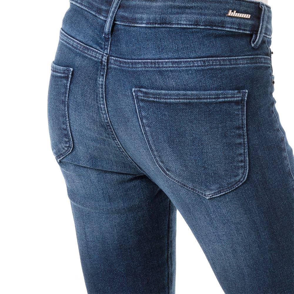 Calça Jeans Bloom Flare Taty Azul