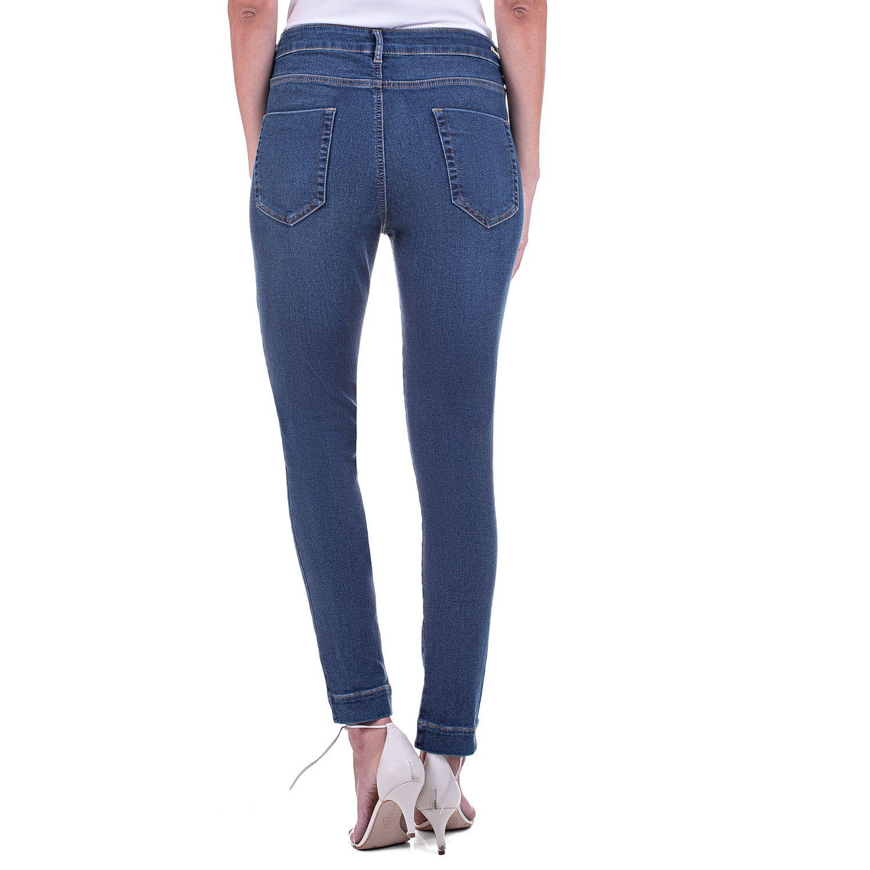 Calça Jeans Bloom Jogger com Amarração na Cintura