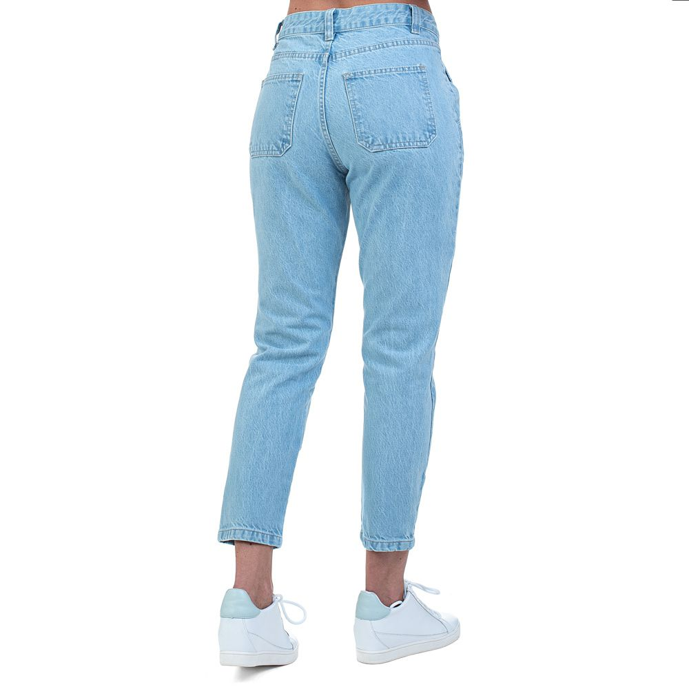 Calça Jeans Bloom Mom Azul