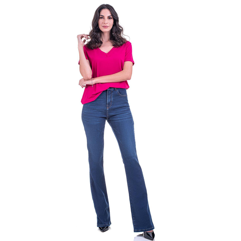 Calça Jeans Flare Taty
