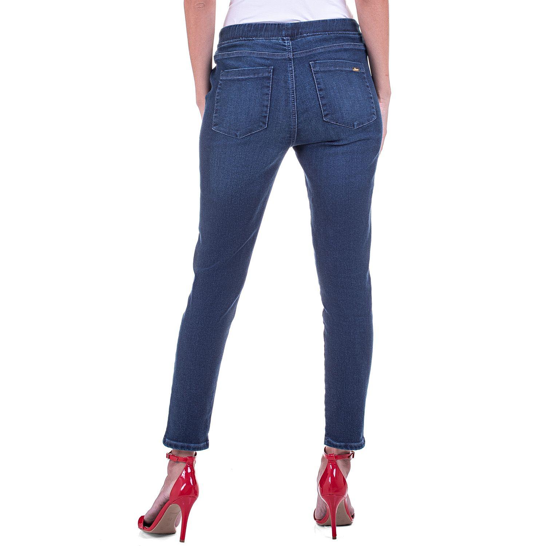 Calça Jeans Jogger Bolso Utilitário