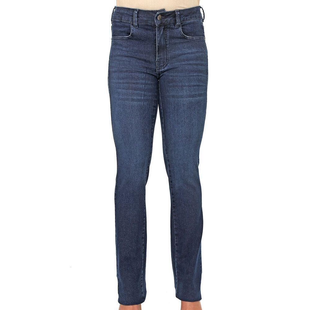 Calça Jeans Judy Reta Cintura Média