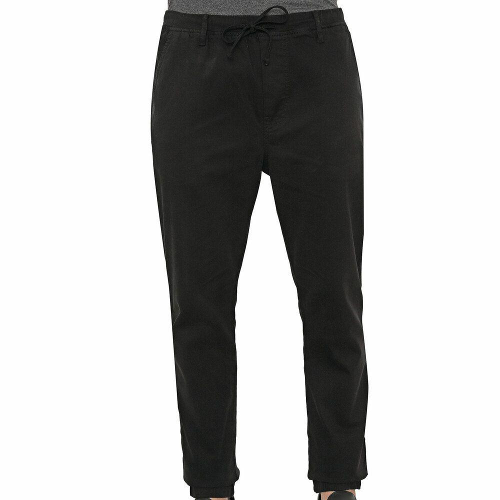 Calça Jeans Masculina Jogger Preta