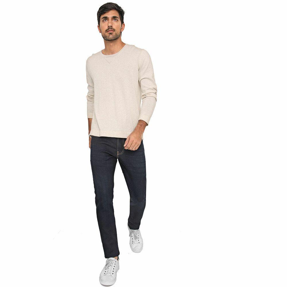 Calça Jeans Masculina Slim Azul Marinho