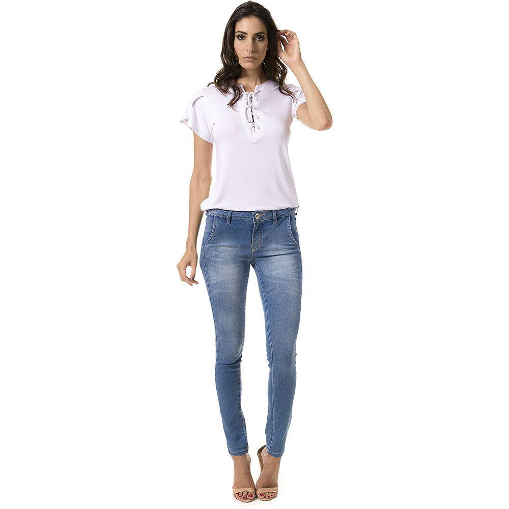 Calça Jeans Skinny Cigarrete Thiffany