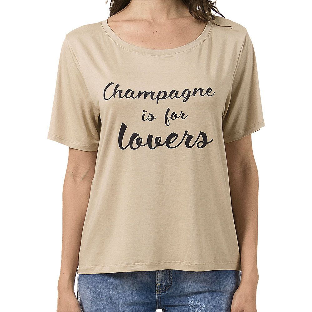 T-Shirt Champagne is For Lovers