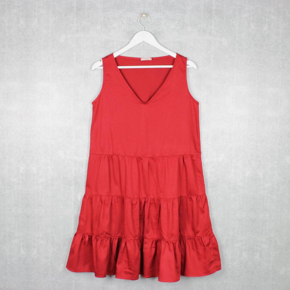 Vestido Regata 3 Marias Vermelho Samba