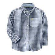 Camisa Carter's Xadrez Azul