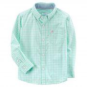 Camisa Carter's Xadrez Verde