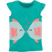 Camiseta Carter's Peixinhos Apaixonados